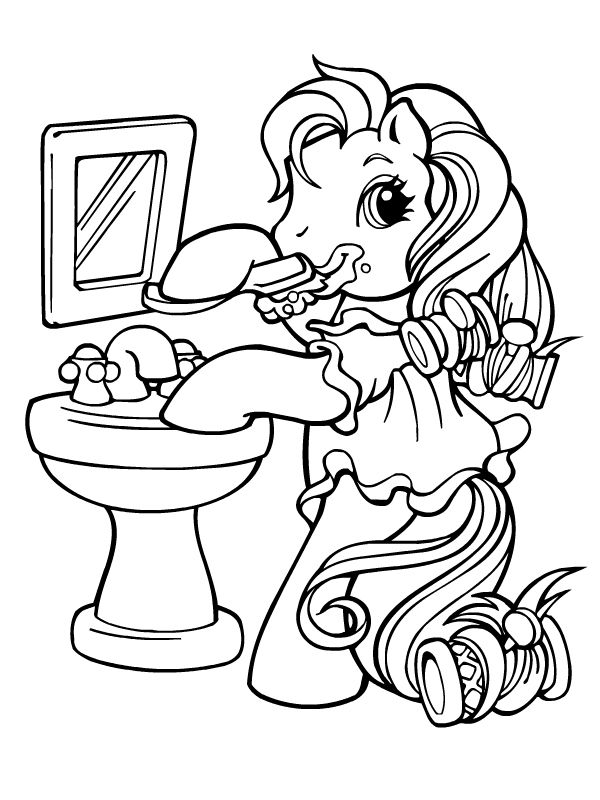 My Little Pony G3 Coloring Pages : My little pony mon petit poney http kidzeo