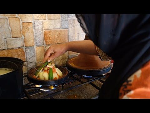 Chicken tajine video recipe - Tagine from chicken, vegetables and olives - recipe from a traditional Moroccan restaurant (source: my personnal food and travel blog / vlog with recipes, authentic video recipes, street food, food and travel documentary, travel info and more. Welcome! :) )