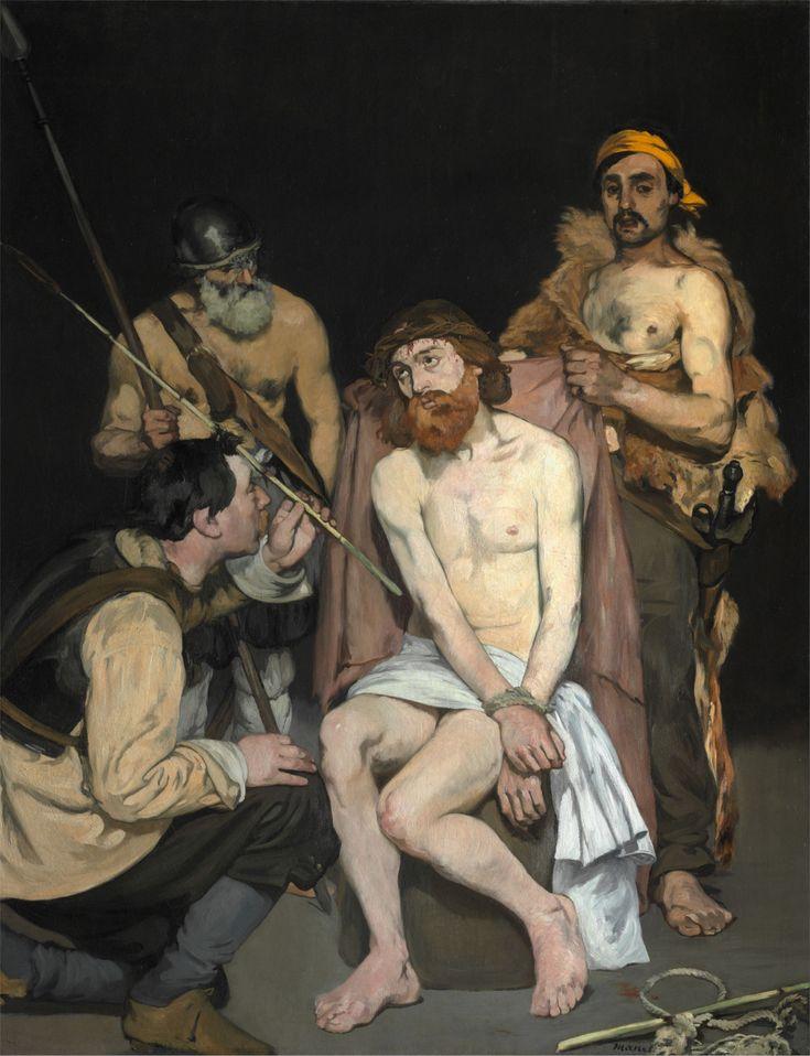 """Gesù deriso dai soldati"" 1882   Dimension: 190,8 x 148,3 cm  The Art Institute of Chicago, Chicago"