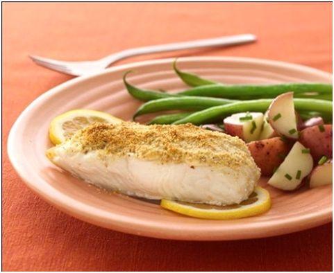 Receta con pescado para diabéticos con sobrepeso (dietas