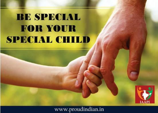 """""""There are two kinds of 'disabled' persons: Those who dwell on what they have lost and those who concentrate on what they have left."""" Be Special, for your special Child. Because they need who can understand them- a Supporter, a Family."""