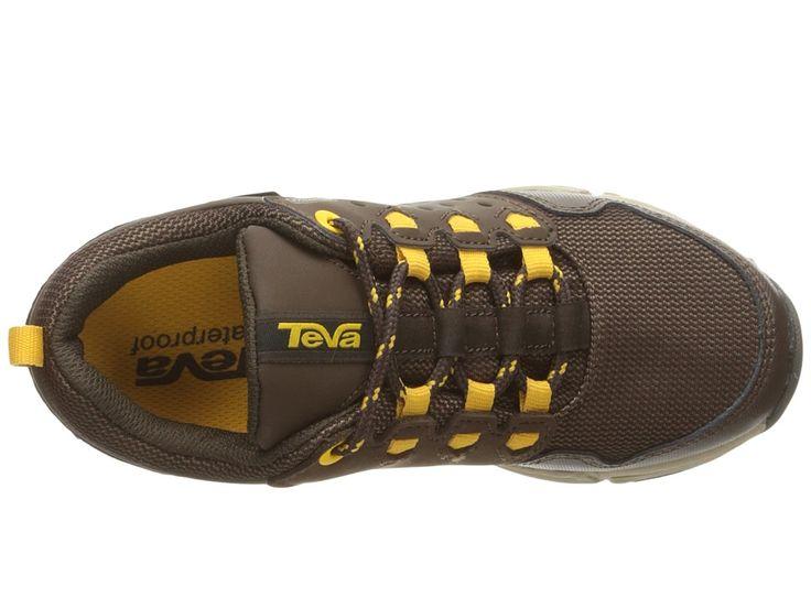 Teva Kids Wit (Little Kid) Boys Shoes Chocolate/Yellow