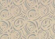 Harlequin Momentum Fabric - Vortex - Latte and Silver