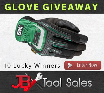 Enter to Win a Pair of SK Tools Mechanics Gloves - 10 Winners http://virl.io/fbWOUWO
