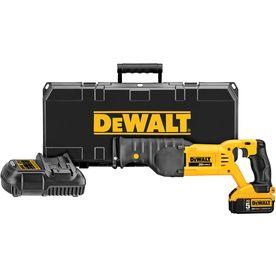 Dewalt 20-Volt Max-Volt Variable Speed Cordless Reciprocating Saw Batt