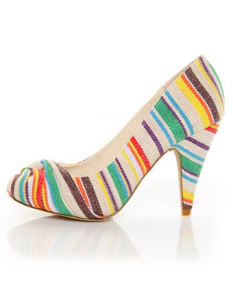 striped pump from Rocket Dog, from lulus.com