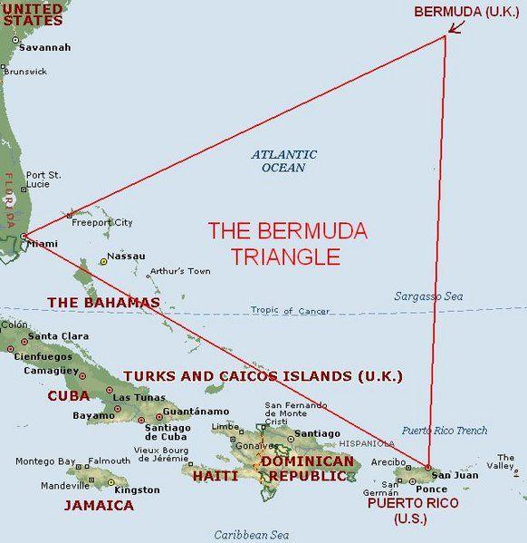 Bermuda Triangle  Bermuda triangle Triangles and Paranormal