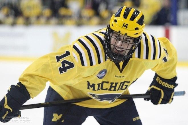 University of Michigan hockey - Kevin Lynch