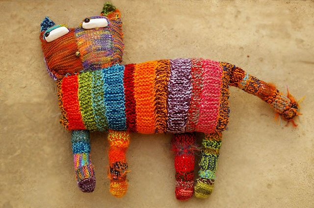 patchwork cat by yourtoothfairy, via Flickr