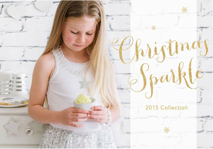 Christmas Sparkle Collection. Range includes large plates, dessert plates, cups, napkins, treat bags, thank you tags, stickers seals, buntings, garlands, cupcake wrappers and cupcake toppers. By Illume Partyware.