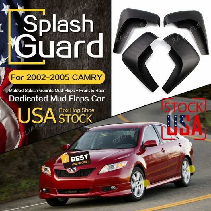 Awesome Awesome For Toyota Camry 2002-2006 Mudflaps Molded Splash Guards Front andRear US STOCK 2018