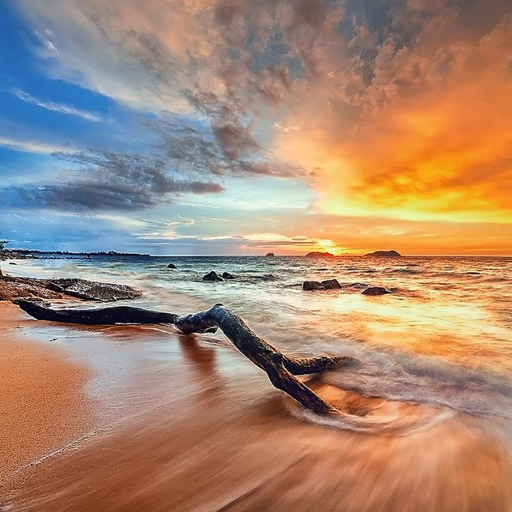 Burning SeaPhotos, God Will, Esmar Abdul, Beautiful, Nature Photography, Blankets, Beach Sunsets Photography, Burning Sea, Sunrises Sunsets