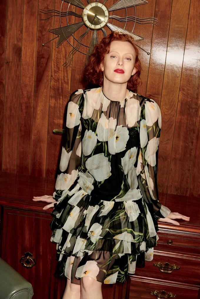 Карен Элсон в каталоге Bergdorf Goodman (Интернет-журнал ETODAY)