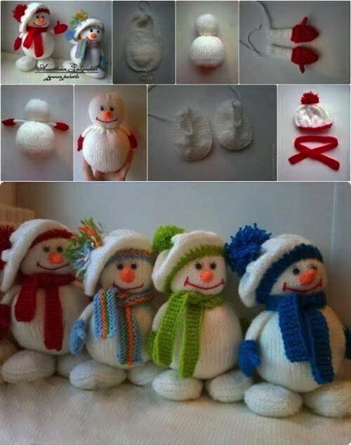 come fare un pupazzo di neve 06
