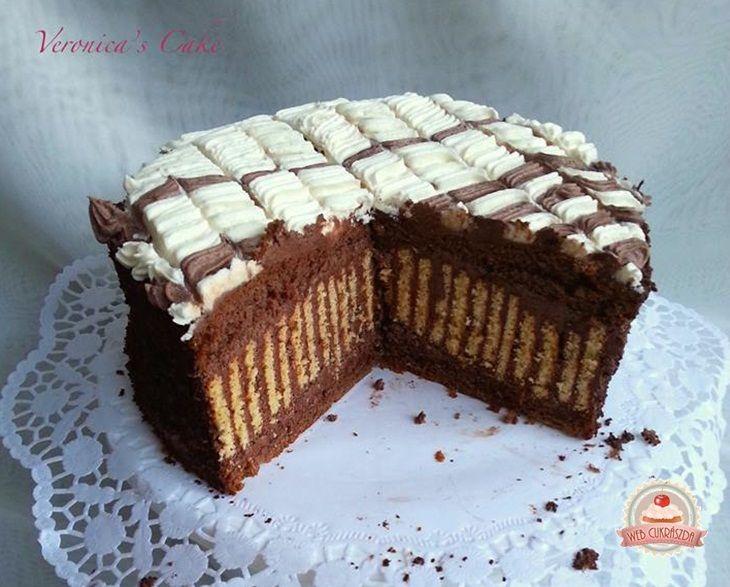 Legyező torta