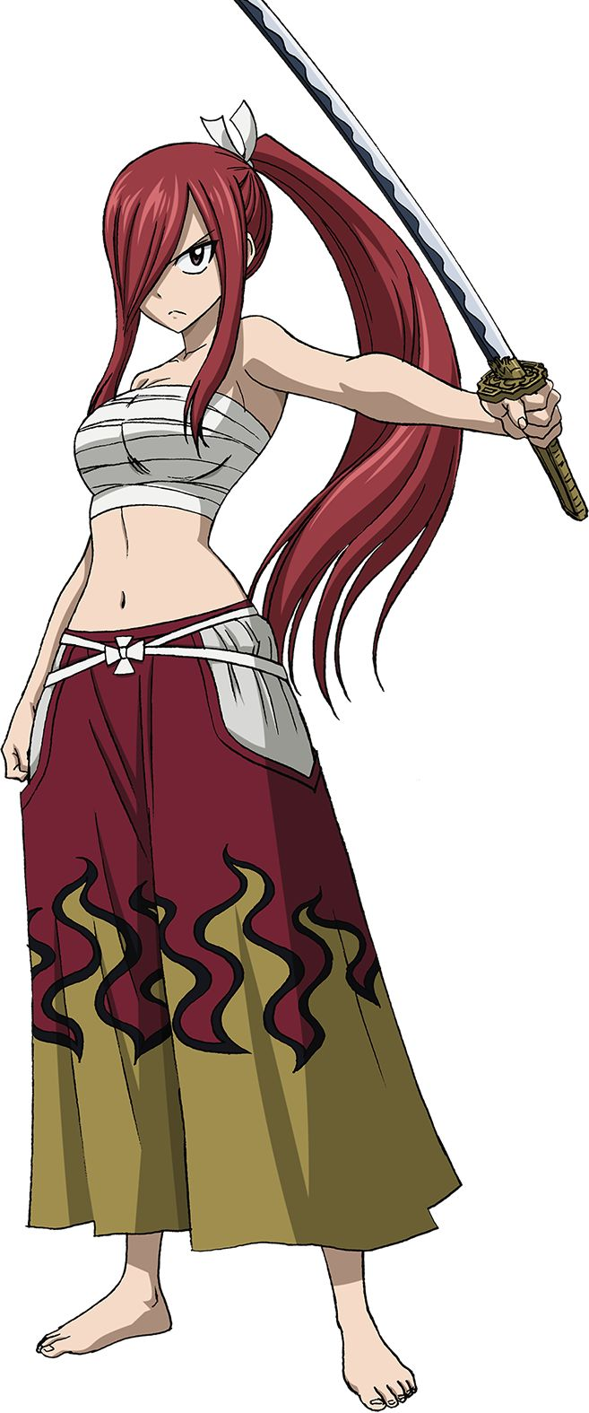 Erza Scarlet - I don't know who this girl is, but she looks kinda like my Ronin Yoshino... :/