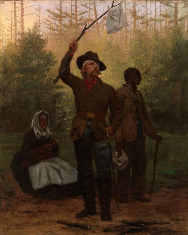 African Ameican Artist Paintings Of Confederate Flag