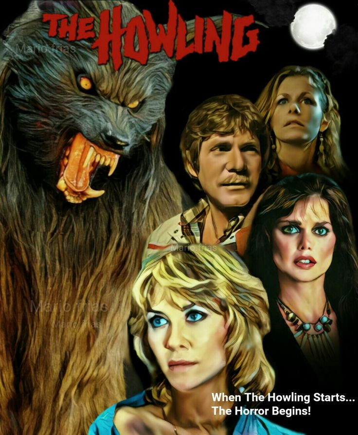The Howling 1981 Horror Movie Werewolves Fan Made Edit MF