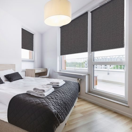 bedroom shades.  Bloc Zinc Blackout Blind Premium Roller blinds great for bedrooms or sitting rooms Best 25 Bedroom ideas on Pinterest White bedroom