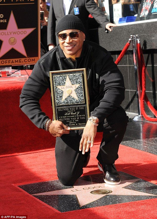 LL Cool J awarded Hollywood Walk Of Fame star in front of Mike Tyson