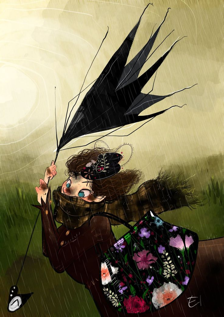 OctoberConceptArt Day14: Umbrella - Illustration