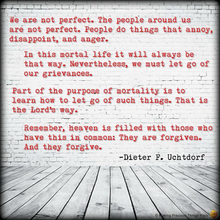 106 best Dieter F Uchtdorf images on Pinterest | Gospel quotes ...