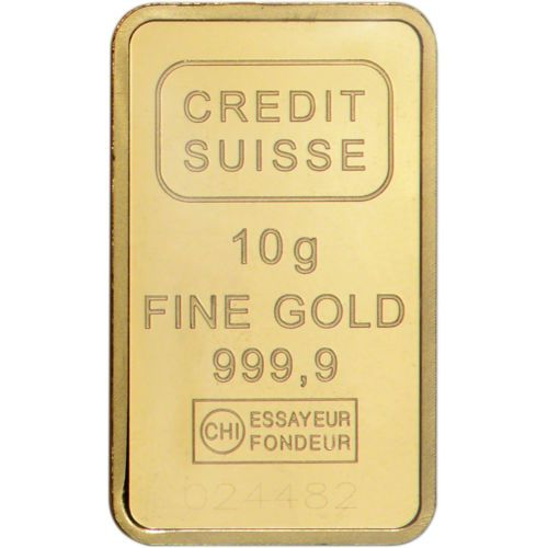 10 Gram Gold Bar Credit Suisse Statue Of Liberty 999 9 Fine Sealed W Assay Gold Goldbar