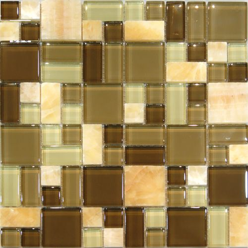 Kitchen Tiles Square: 297 Best Images About Glass Mosaic On Pinterest