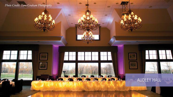 Audley Hall - Deer Creek Golf Course / http://www.eventsdeercreek.com/deer-creek-banquet/weddings