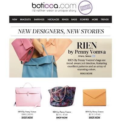 boticca.com 's newsletter