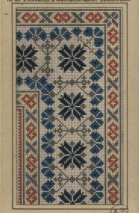 Gallery.ru / Фото #69 - старинные ковры и схемы для вышивки - SvetlanN