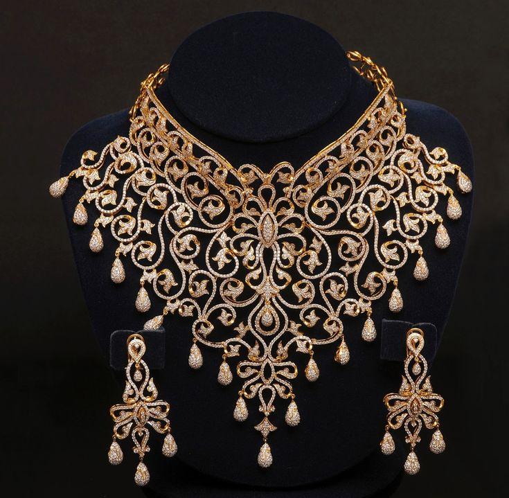 Wedding Necklace Jewellery Design