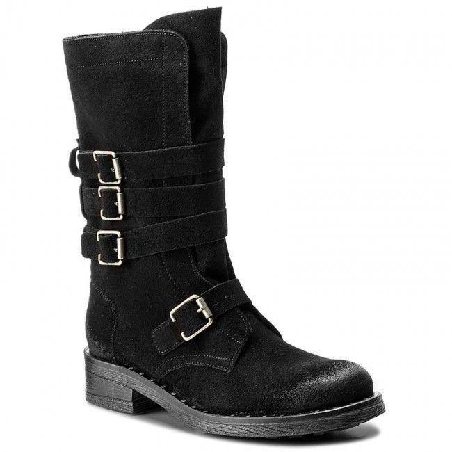 Μπότες MACIEJKA - 03308-01/00-5 Μαύρο