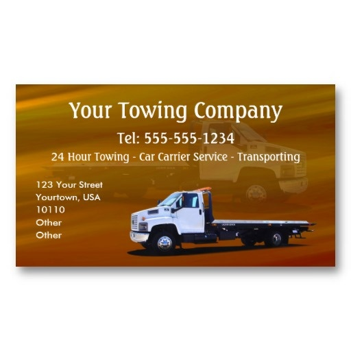 15 best images about Tow Truck Business Cards on Pinterest