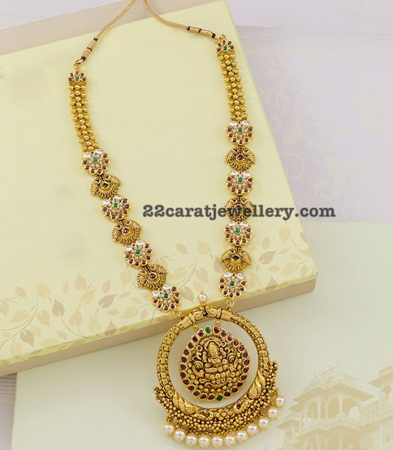 Trendy Temple Set by Neelkanth Jewellers - Jewellery Designs