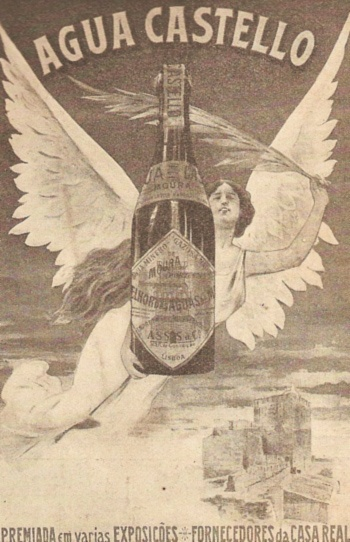 Publicidade Água Castello 1940