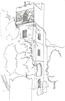 Architectural Diary 2010/11: Sketches round town