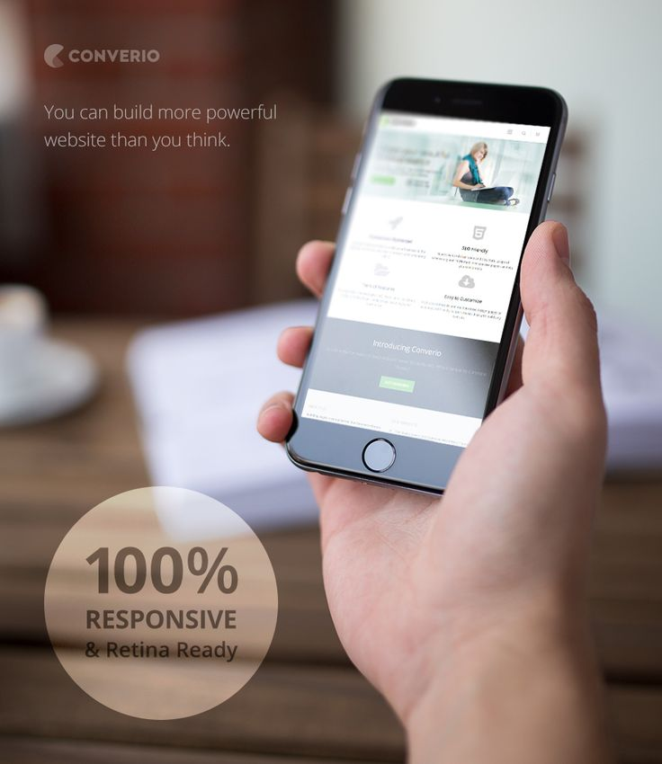 Converio - Responsive WordPress Theme