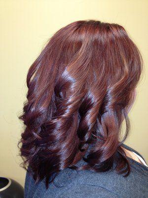 Beautiful natural shade of red hair. Reactions Hair Design ...
