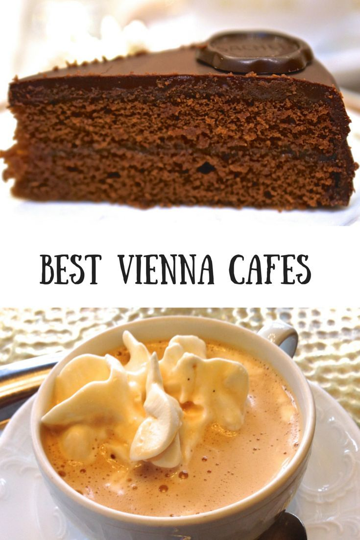 The best (or at least my favorite) cafes in Vienna, Austria for fancy Viennese coffee and delicious cake, including my top pick for Sacher Torte.