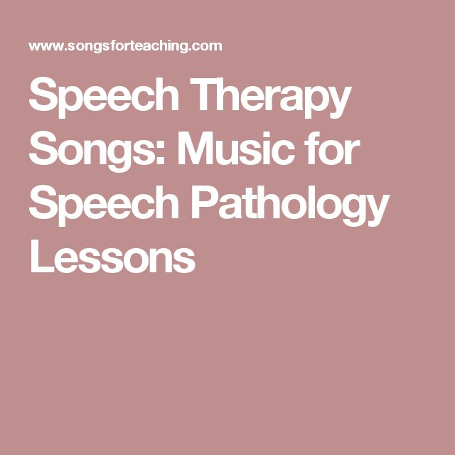 informative speech on music therapy Successful speech therapy strategies for working with toddlers with apraxia and other speech-language difficulties ethan a discover informative speech on music.