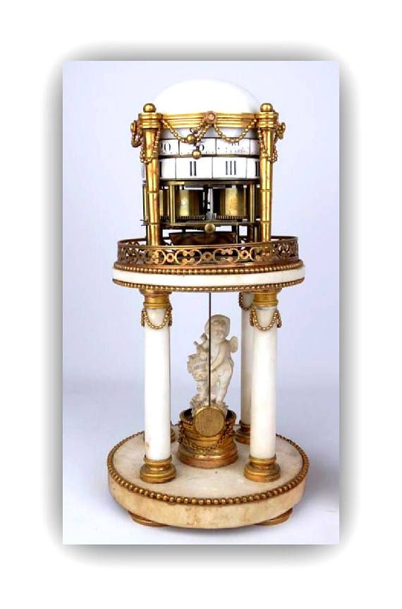 French Mantle Clock  19th C French Classical Clock  Antique