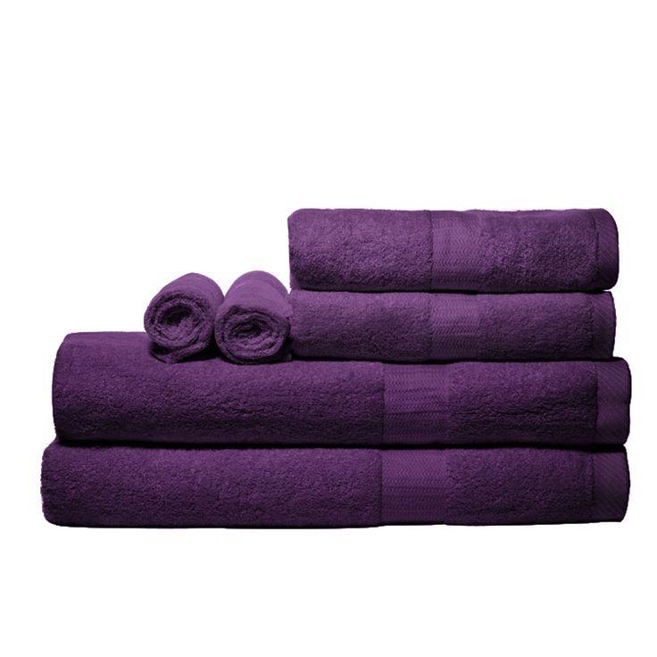 Towels - LOVE the purple!!