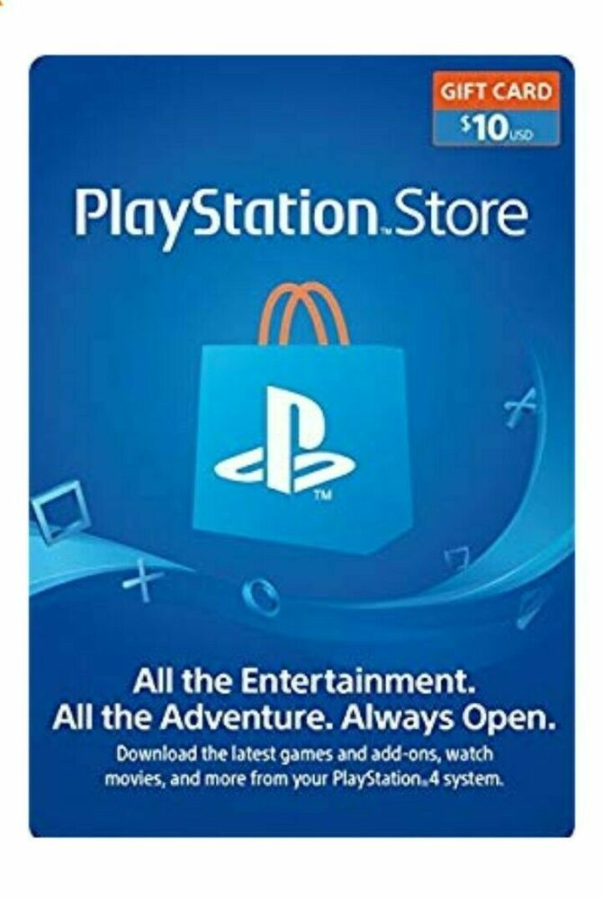 $10 PlayStation Network Psn Store Gift Card #ps4 #gaming #video
