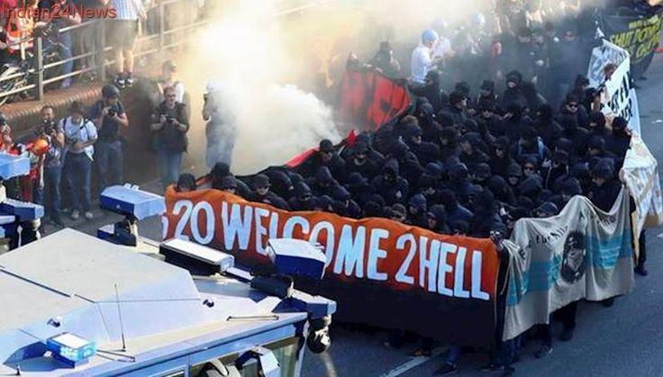 German police make raids linked to G20 riots in Hamburg