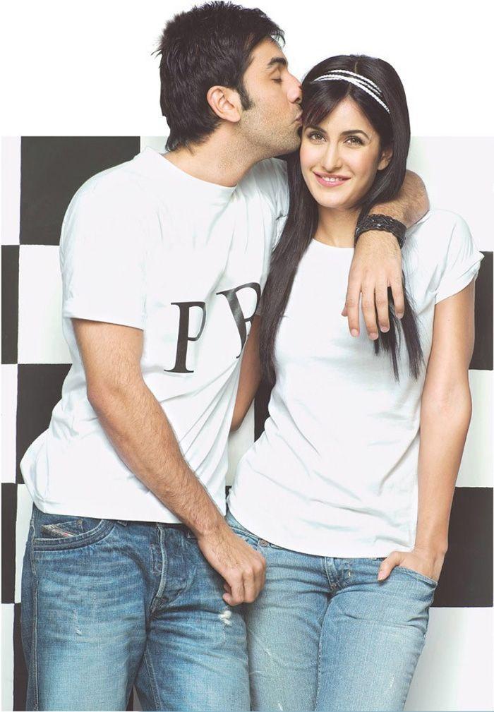 Katrina Kaif with Ranbir Kapoor #Style #Bollywood #Fashion #Beauty