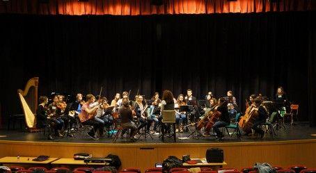 Premières répétitions de l'Orchestre des lycées français à l'étranger, au Lycée français de #Madrid. #AEFE