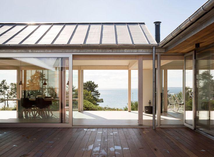 #Architecture in #Denmark - #House by Lenschow & Pihlmann, ph Hampus Berndtson