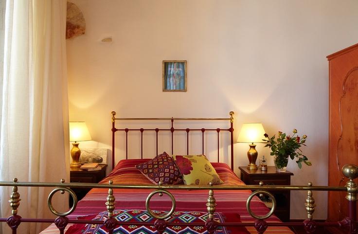 Villa Euphoria Rethymno Crete Master Bedroom  www.villa-crete.gr/