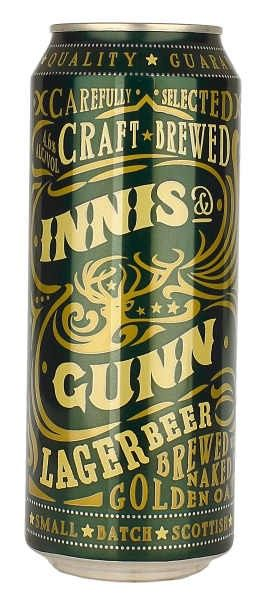 Innis and Gunn Lager Beer Can